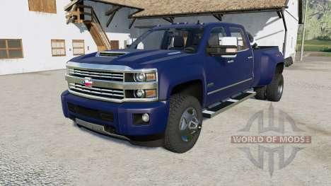 Chevrolet Silverado 3500 HD High Country v3.0 para Farming Simulator 2017