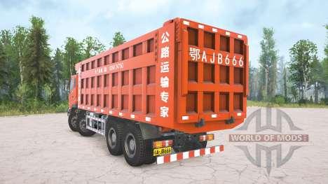 Dongfeng Tianlong KC DFH3310A para Spintires MudRunner