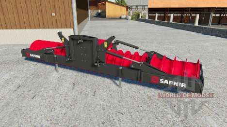 Saphir silowalze para Farming Simulator 2017