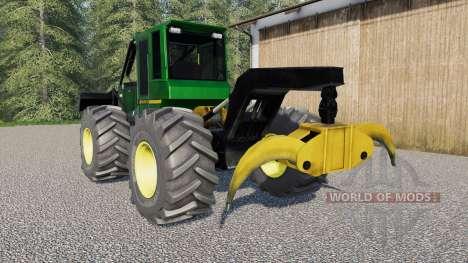 João Deeɾe 548H para Farming Simulator 2017