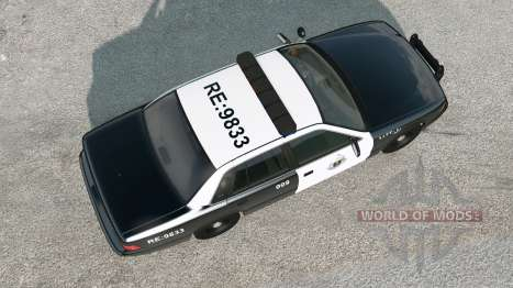 Gavril Grand Marshall Saudi Arabia Police v2.0 para BeamNG Drive