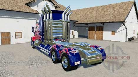 Western Star 5700 Sleeper Cab Optimus Prime para Farming Simulator 2017