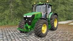 John Deere 7280R and 7310R para Farming Simulator 2017