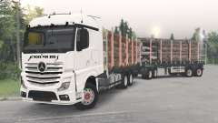 Mercedes-Benz Actros (MP4) para Spin Tires