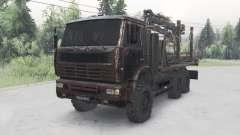 KamAZ-652Ձ para Spin Tires