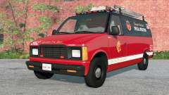 Gavril H-Series Chicago Fire Department v1.2 para BeamNG Drive