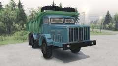 MAZ-530 verde-azul para Spin Tires