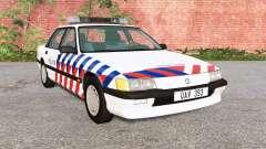 Ibishu Pessima 1988 Dutch Police para BeamNG Drive