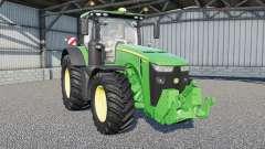 A John Deere 8R-serieꚃ para Farming Simulator 2017