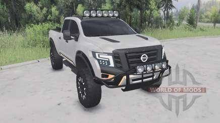 Nissan Titan Guerreiro conceito Ձ016 para Spin Tires