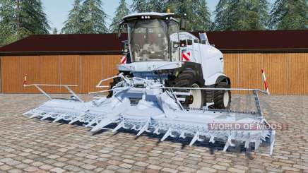 Krone Grande Ӽ 1100 para Farming Simulator 2017