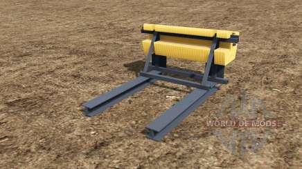Rear Ballast Set from 0,5 to 5 tons para Farming Simulator 2017