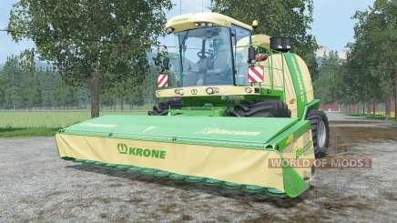 Krone BiG X 1100 change capacity para Farming Simulator 2015