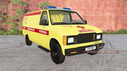 Gavril H-Série Ambulância v1.2 para BeamNG Drive