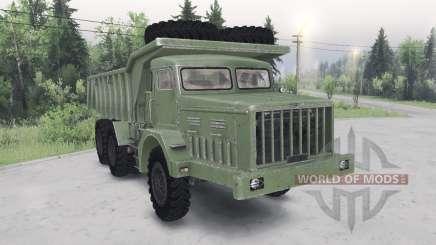 MAZ-530 cor verde para Spin Tires