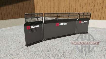 Saphir siloschilder para Farming Simulator 2017