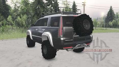 Cadillac Escalade (GMTK2XL) 2015 para Spin Tires