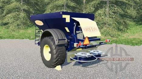 Bredal K105 para Farming Simulator 2017