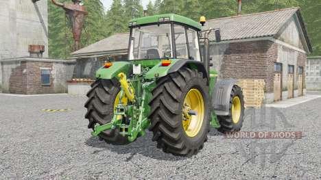 John Deere 7010-series para Farming Simulator 2017