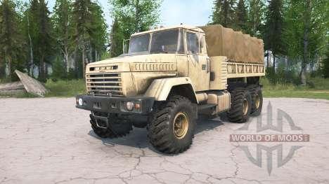 KrAZ-6322 para Spintires MudRunner