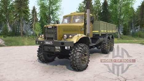 KrAZ-255B para Spintires MudRunner