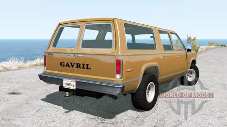 Gavril D-Series 70s v0.7.5 para BeamNG Drive