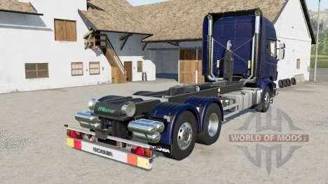 Scania R730 hooklift para Farming Simulator 2017