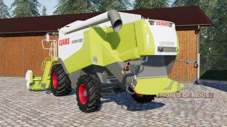 Claas Lexion 500 para Farming Simulator 2017
