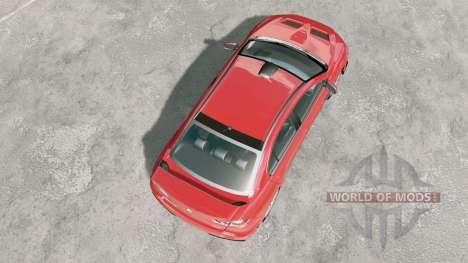 Mitsubishi Lancer Evolution X FQ-400 2009 para BeamNG Drive