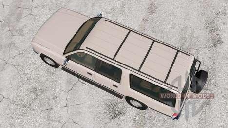 Gavril Roamer 1986 para BeamNG Drive