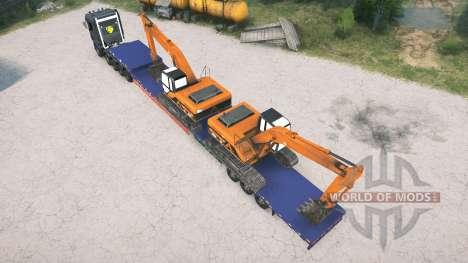 Scania R1000 10x10 para Spintires MudRunner