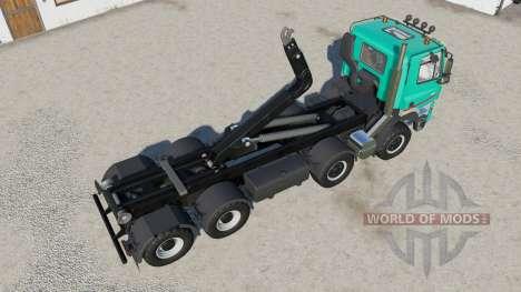 Tatra Phoenix T158 hooklift para Farming Simulator 2017