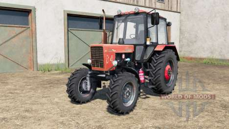 MTZ-80.1 Bielorrússia para Farming Simulator 2017