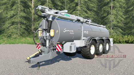 Samson PGII 35 para Farming Simulator 2017