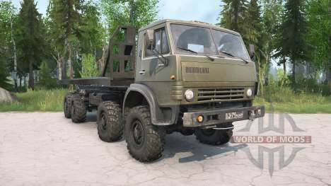 KamAZ-63501 Multilift para Spintires MudRunner