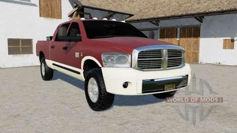 Dodge Ram 3500 Mega Cab 2006 para Farming Simulator 2017
