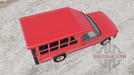 Gavril D-Series Thai Minibus v2.0 para BeamNG Drive
