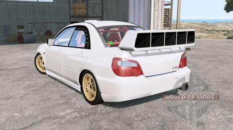 Subaru Impreza WRX STi (GDB) 2004 para BeamNG Drive