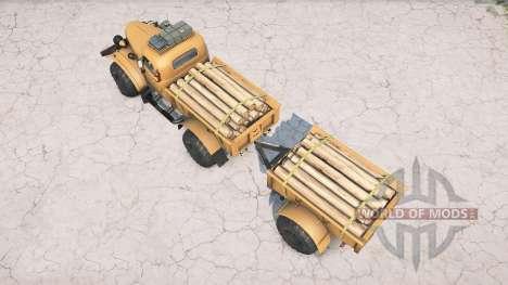 ZIL-157 Lenhador para Spintires MudRunner