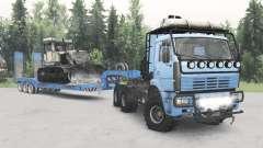 KamAZ-652Զ para Spin Tires