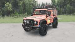Land Rover Defender ୨0 para Spin Tires
