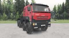 KamAZ-6522৪ para Spin Tires
