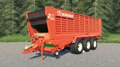 Krone ZX 560 GD para Farming Simulator 2017