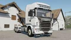Scania R730 hooklifᵵ para Farming Simulator 2017