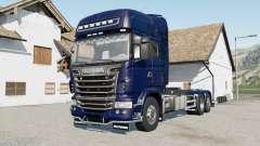 Scania R730 hooklifƭ para Farming Simulator 2017