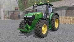 A John Deere 7280R & 7310Ꞧ para Farming Simulator 2017