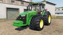 A John Deere 8245R-8400Ɽ para Farming Simulator 2017