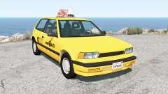 Ibishu Covet New York Taxi para BeamNG Drive