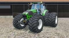 Deutz-Fahr 7250 TTV Agrotron Green Edition para Farming Simulator 2015