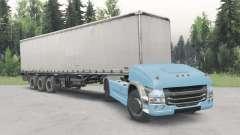 Não-tripulados caminhão Scania 4x4 v2.1 para Spin Tires